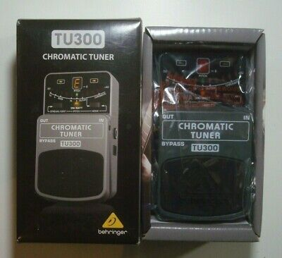 $ CDN39.99 • Buy Behringer **TU300***ULTIMATE Guitar - Bass CHROMATIC Pedal TUNER****NEW W/Box**