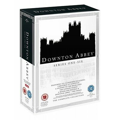 DOWNTON / DOWNTOWN ABBEY - The Complete TV Series Season 1-6 + Specials DVD NEW • 40£