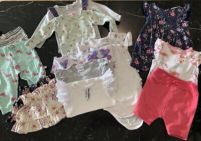 AU40 • Buy Baby Girl Bundle Size 0 (6-12 Months) Pour Bebe, Marquise, Rosie Pope, Sprout