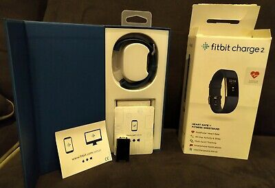 $ CDN19.77 • Buy Fitbit - Charge 2 Activity Tracker Pebble - Box - Manuals - Defective BLUE Band