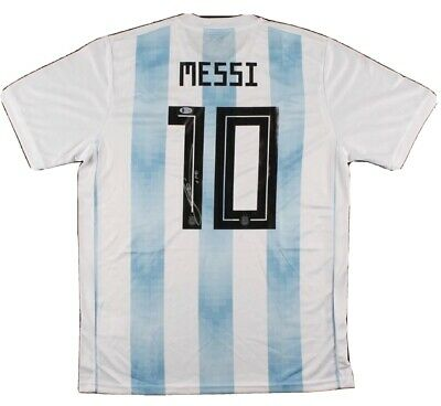 AU77499.35 • Buy Lionel Messi Autograph / Signed Adidas Argentina Soccer Jersey Beckett COA! MINT