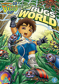 Go Diego Go - It's A Bug's World (DVD, 2010) • 1.99£