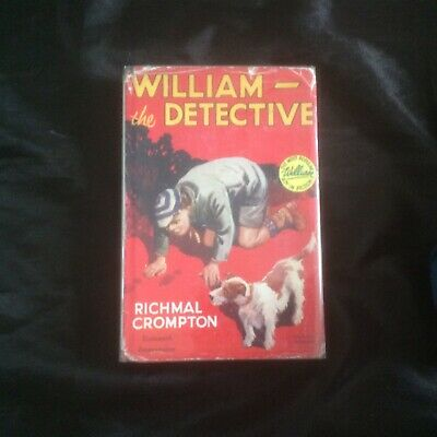 William The Detective Richmal Crompton - 1st Edition Very Good • 11.99£