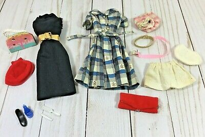 $ CDN26.60 • Buy LOT Of VINTAGE Barbie Clothes And Accessories - All From The 1960's