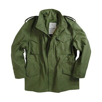 AU130 • Buy MADE IN USA Alpha Industries M-65 M65 Field Coat Jacket US Military Army Vietnam