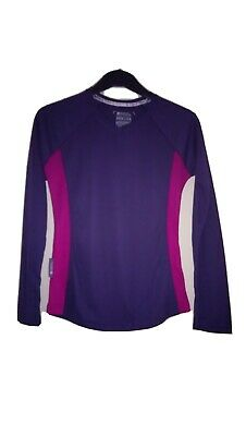 Womens Mountain Warehouse ISOCOOL Quick Drying  BASE LAYER Sizes , 8, 10, 12, 14 • 4.99£