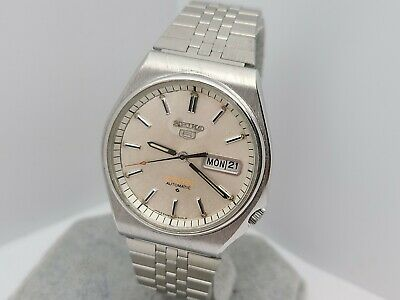 $ CDN199.78 • Buy Vintage SEIKO 5 Sports 6309-8800 17jewels Men's Automatic Watch Day Date 1985