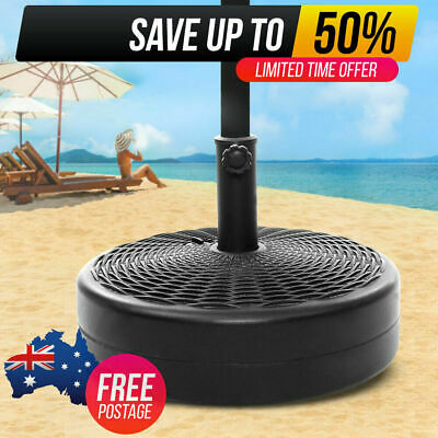 AU47.99 • Buy Instahut Outdoor Umbrella 3M Stand Base Pod Sand/Water Patio Cantilever