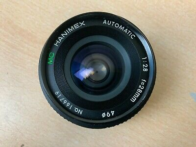 Hanimex Automatic 1:2.8 F=28mm Lens - AH 51425 • 14.24£