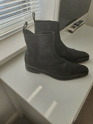 GUCCI Black Leather Chelsea Boots UK 6.5 But Are Large And Would Fit 7.5 UK. • 8.30£