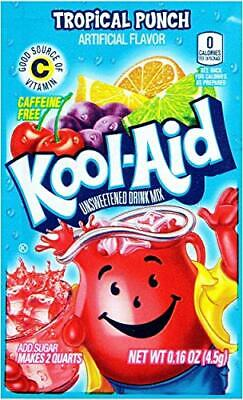 Kool-Aid Tropical Punch Unsweetened Soft Drink Mix, 0.16-Ounce Envelopes (Pack • 12.47£