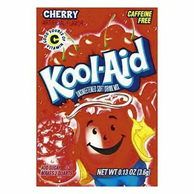 Kool-Aid Cherry Unsweetened Soft Drink Mix, 0.13-Ounce Envelopes(Pack Of 48) • 13.50£
