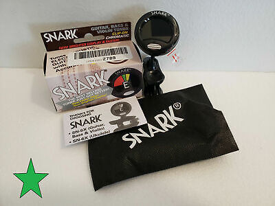 $ CDN6.54 • Buy Snark SN5X Clip-On Chromatic Instrument Tuner Guitar Bass & Violin New NO RETURN