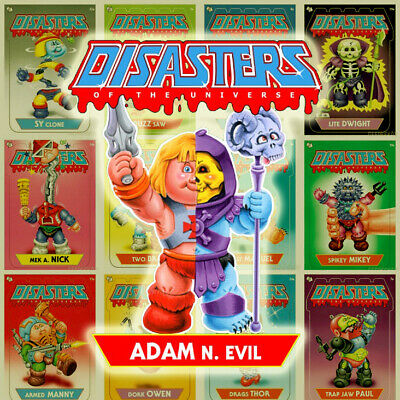 $59.99 • Buy Disasters Of The Universe Garbage Pail Kids Masters Universe 1/1 Printing Plate