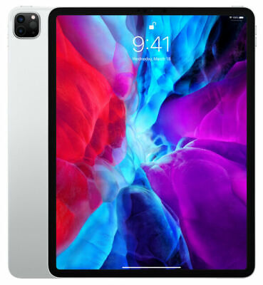 AU1639 • Buy Brand New IPad Pro 12.9in 4th Generation Silver 128GB Wi-Fi 2020 Version