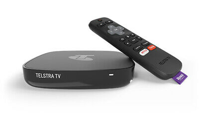 AU100 • Buy Telstra TV Box 3 (4200TL) Powered By Roku - Black