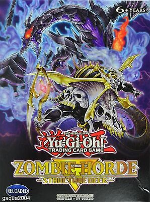 AU2.95 • Buy Yugioh - Structure Deck - Zombie Horde - Single Cards