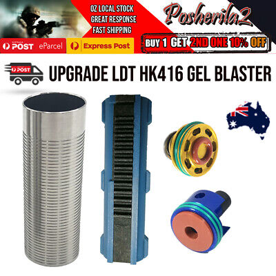 AU52.20 • Buy Upgrade LDT HK416 Gel Blaster Gearbox Parts Ladder Piston Head Cylinder Head AU