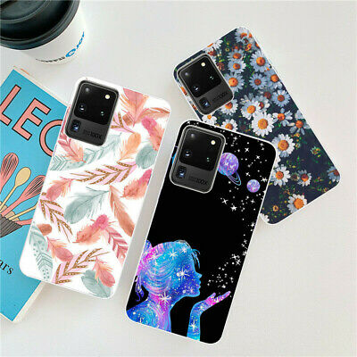 $ CDN3.85 • Buy For Samsung Galaxy S20 Ultra S10 Lite S9 S8 Case Silicone Painted Slim Gel Cover