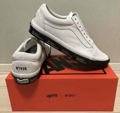 AU177.50 • Buy Vans Vault X WTAPS Japan US9 OG Old School LX Shoes White/Black/GPS DSWT Rare