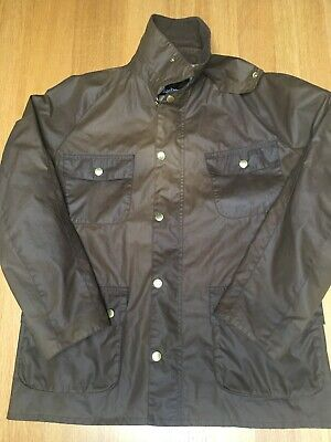 Barbour Frazer Mens XL 50in Waxed Cotton Countryside Field Jacket VGC • 84£