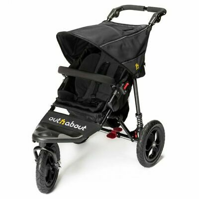Out N About Nipper V4 3 Wheeler Single Pushchair • 279.95£