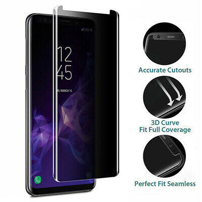 $ CDN5.35 • Buy Anti-Spy Screen Protector For Samsung Galaxy S8 S9 Plus Privacy Tempered Glass