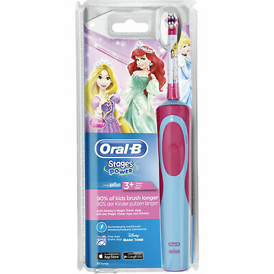 AU34.29 • Buy Oral-B Stages Power Disney Princess Kids Childs Rechargeable Electric Toothbrush