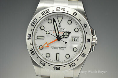 $ CDN13563.44 • Buy 2020 Rolex Explorer II White Automatic Stainless Steel 42MM Watch 216570