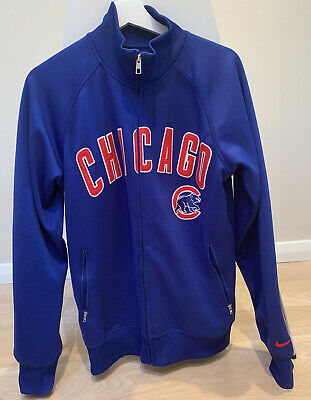 Nike Track Top Chicago Bears Blue Zip Up NFL USA American Size Small • 19£