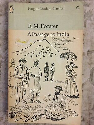 E M Forster A Passage To India (Paperback, 1965) Penguin Modern Classics • 3.04£