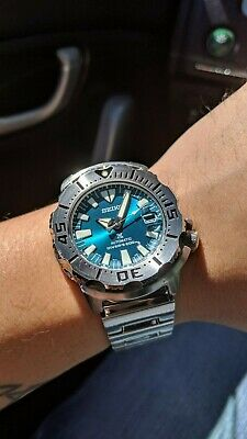 $ CDN1021.91 • Buy Seiko  SZSC005  Jade/Green Monster Stainless Steel Diver's Watch *Pre-owned*