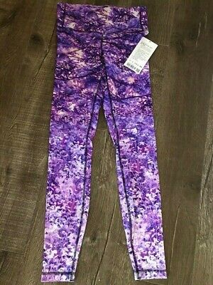 $ CDN150 • Buy Lululemon Seawheeze 2019 Fractal Forest Speed Tights NWT
