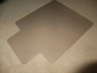 AU19.99 • Buy Office Chair Mat For Carpet Good Condition Pickup Only 118 Cm X 91.5 Cm