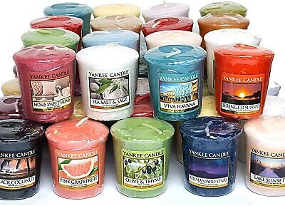 Yankee Candle Votive Sampler Candle. Many Scents To Chose From. Scented 50g • 3.75£