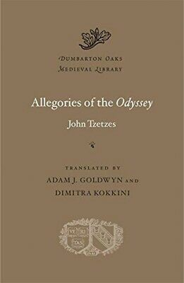 Allegories Of The Odyssey: 56 (Dumbarton Oaks Medieval Library) • 37.79£