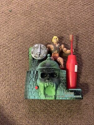 $65 • Buy  Masters Of The Universe He-Man Talking Toothbrush Holder Rare 1984