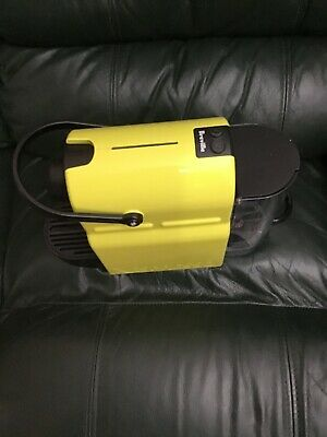 AU10 • Buy Used Nespresso Breville Inissia Lime Green/yellow Coffee Machine