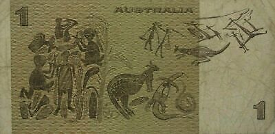 AU2.25 • Buy Australian About Very Fine 1982 $1 Last Johnston Stone Paper Banknote Issue R78