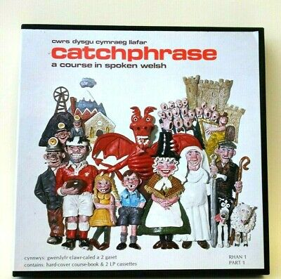 £11.24 • Buy Catchphrase: A Course In Spoken Welsh Part 1 An Intro To The Welsh Language Rare