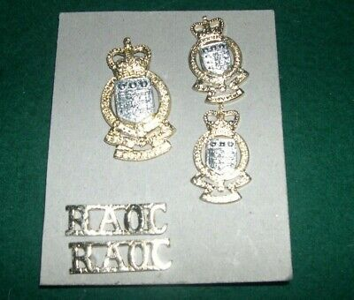 Royal Army Ordnance Corps Set Of Badges QC • 5£