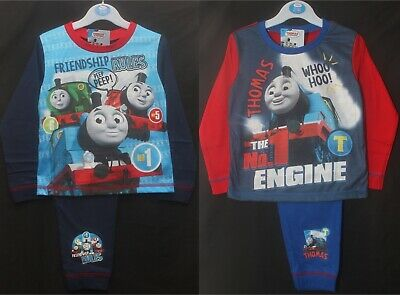 £7.95 • Buy THOMAS THE TANK ENGINE Pyjamas / Boy's PJs In 2 Style Choices 18 Months-5 Years