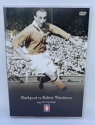 1953 FA Cup Final DVD - Blackpool Vs Bolton Wanderers Excellent Condition • 9.99£