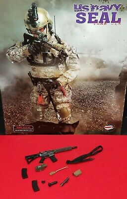 $27.99 • Buy 1/6 Us Navy Seal M4 Rifle With All Sights And Attachments From Playhouse.