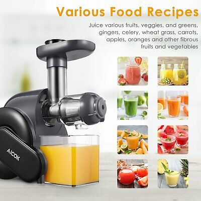 Blender Pressed On Cold Aicok For Vegetables And Fruits With Sleep Osmosis 150W • 290.28£