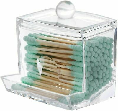 $ CDN8.80 • Buy Cotton Swab Q-tip Holder Q Tip - Buds Ball Dispenser, Bathroom Dispenser QTips