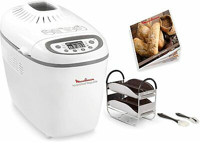 View Details Moulinex OW6101 Home Baguette Breadmaker 1650 W 16 Shows Up To 1.5 KG • 334.12£