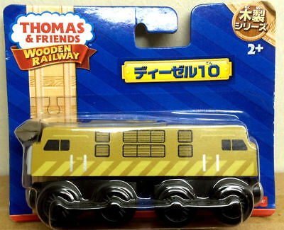 Fisher-Price Wooden Thomas & Friends Diesel 10 Japan Packing (Free Ship) • 19.98£