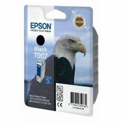 Epson Eagle T007 (Yield: 540 Pages) Black Ink Cartridge • 46.91£