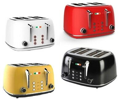 AU90 • Buy Vintage Electric 4 Slice Toaster Stainless Steel 1650W Not Delonghi 4 Colours